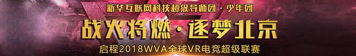 2018WVA全球VR电竞比赛
